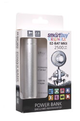 Power-bank SMARTBUY SBPB-2010 EZ-BAT PRO 2500MAH белый